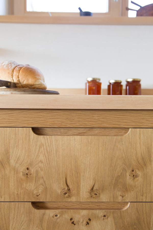 Flat Panel Handle Options - Sustainable Kitchens