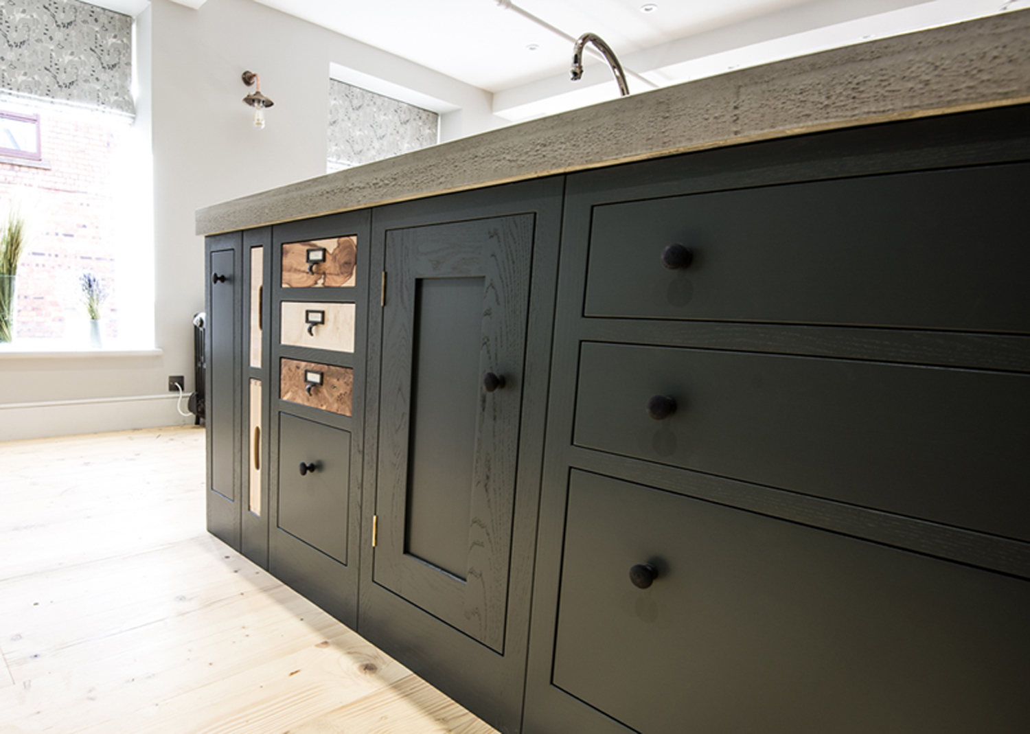 the new it woodwork showroom is now open sustainable kitchen centre island old work bench antiques atlas