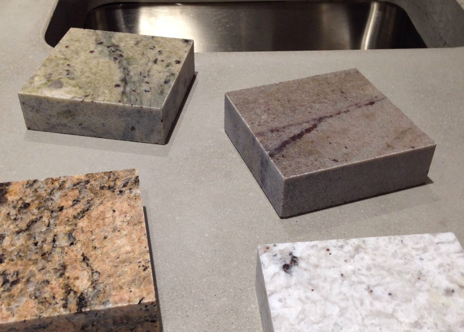 Polished Concrete Vs Natural Stone Worktops Sustainable