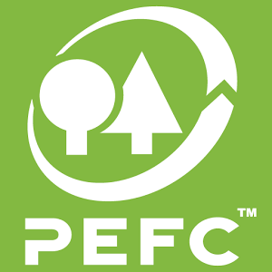PEFC Logo, (Programme for the Endorsement of Forest Certification)