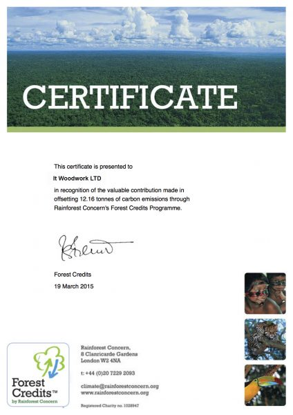 forest-credits-offset certificate