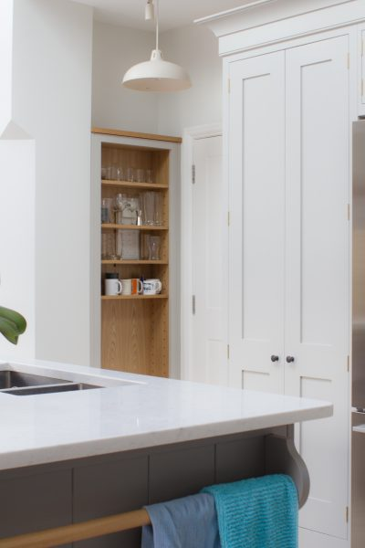 Lovely Leafy Surbiton In South West London Was The Venue For This Stunning  Shaker Kitchen And A Great Design Brief Which Needed To Incorporate Tonnes  Of ...