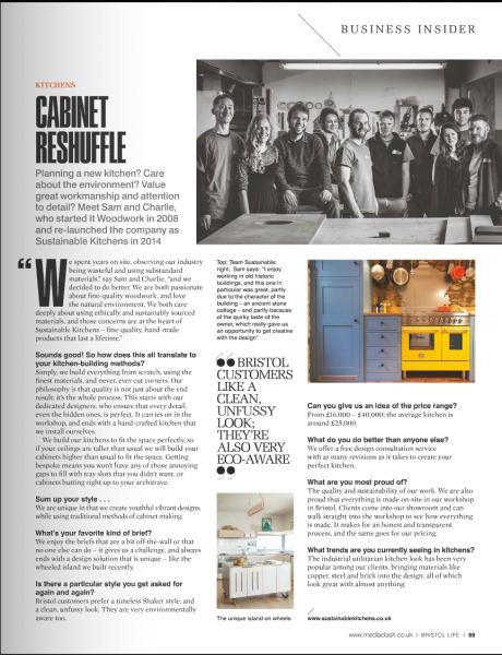 Magazine Feature Bristol Life