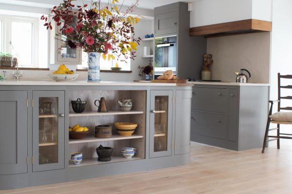 The Contrasts In This Kitchen Are Beautifully Striking; The Traditional  Shaker Cabinets And Reclaimed Timbers With The Most Cutting Edge Appliances  And ...