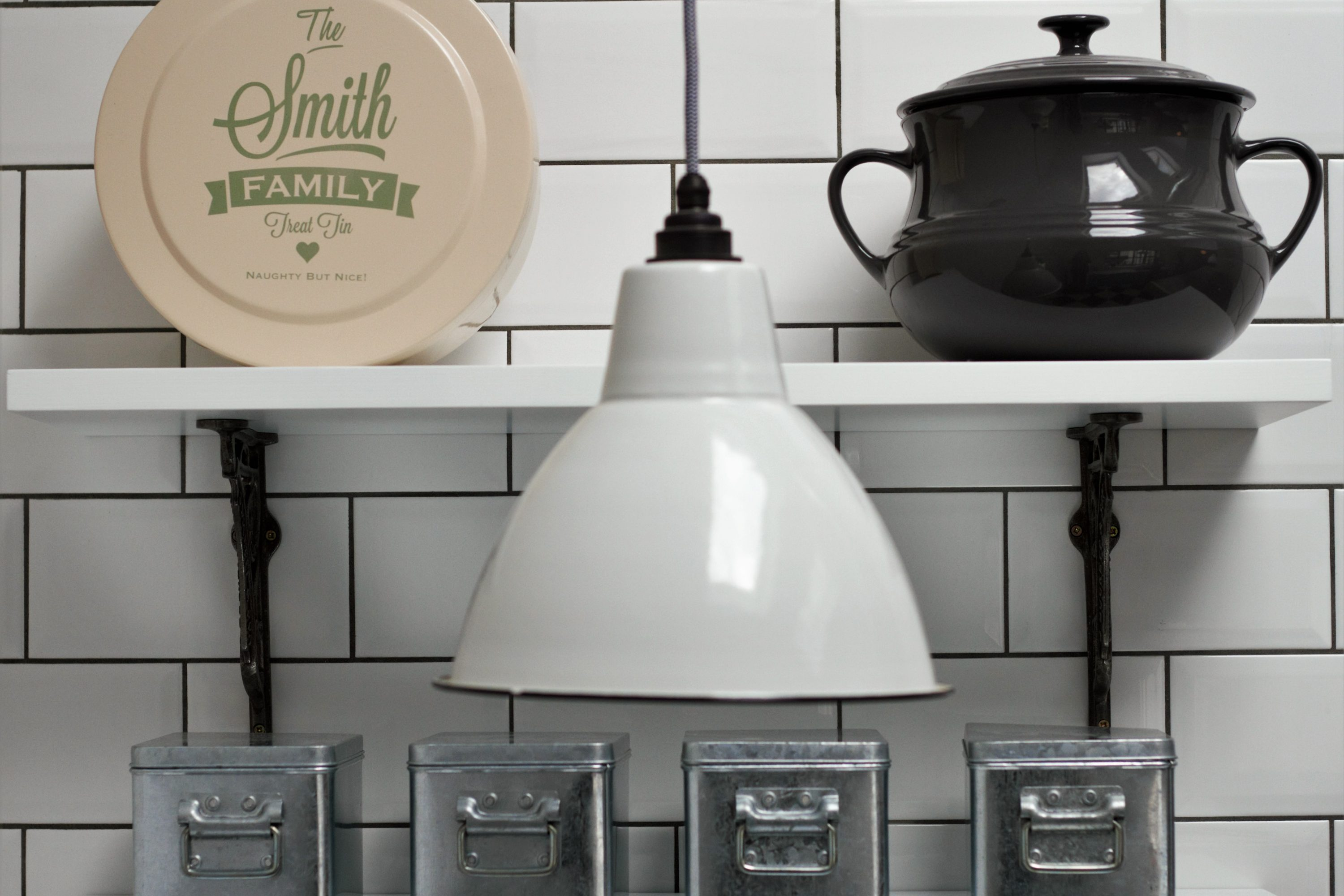 Smith Industrial Kitchen with American Diner Feel - Sustainable Kitchens
