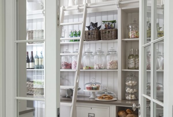 Glass pantry