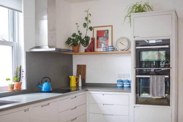 Light small kitchen