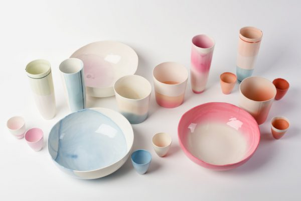 Range of ceramics by Emma buckley