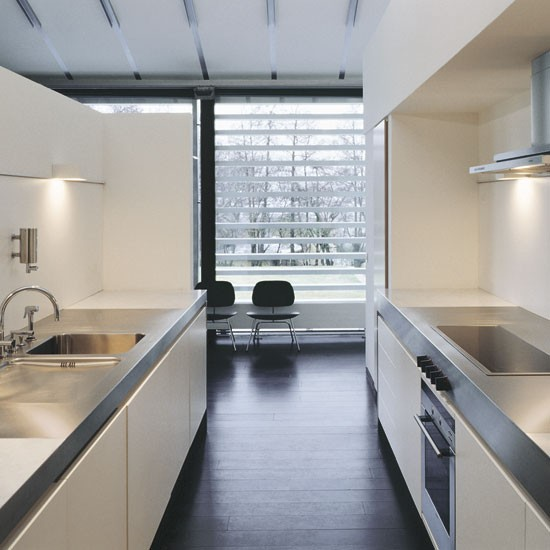 Making the most out of your galley kitchen sustainable for Two way galley kitchen designs