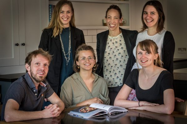 A photo of the Sustainable Design & Office team.