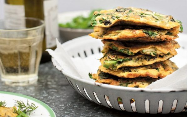 #Meatfreemonday Full of green fritters. Courgette fritters