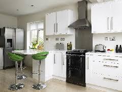 Everhot range cooker in a modern kitchen