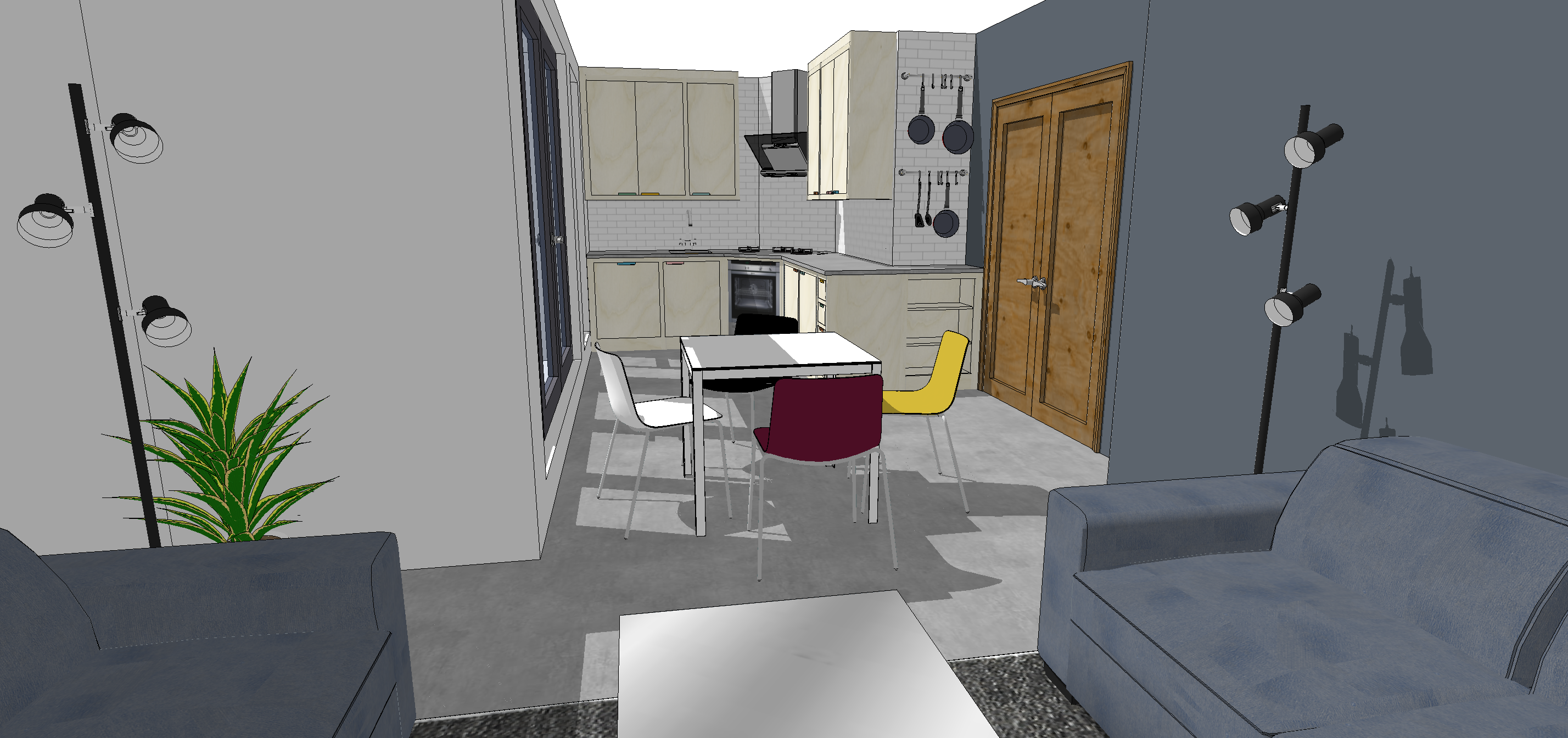 Design Example Utilising Small Kitchen Spaces Sustainable Kitchens