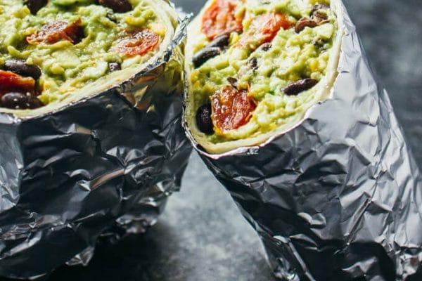Guacamole Burrito