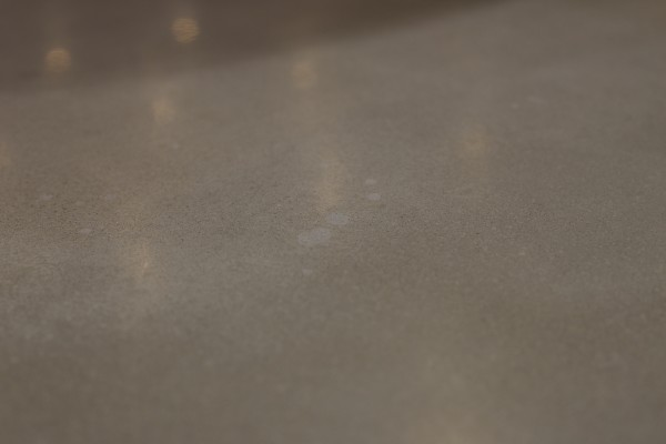 Stained concrete worktop