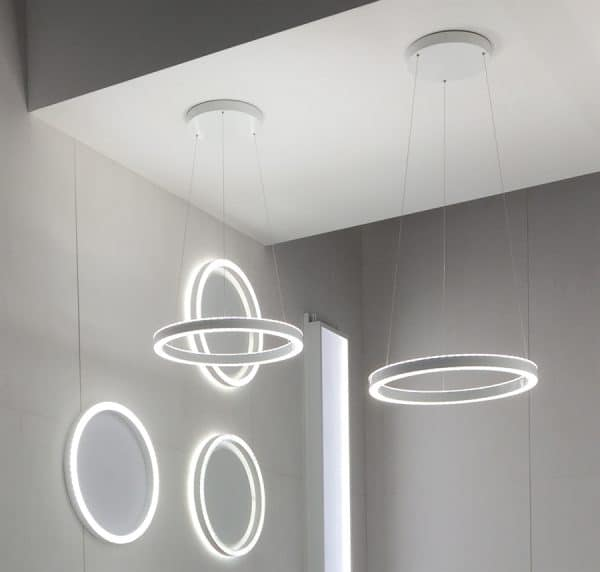Loop lighting by Selux