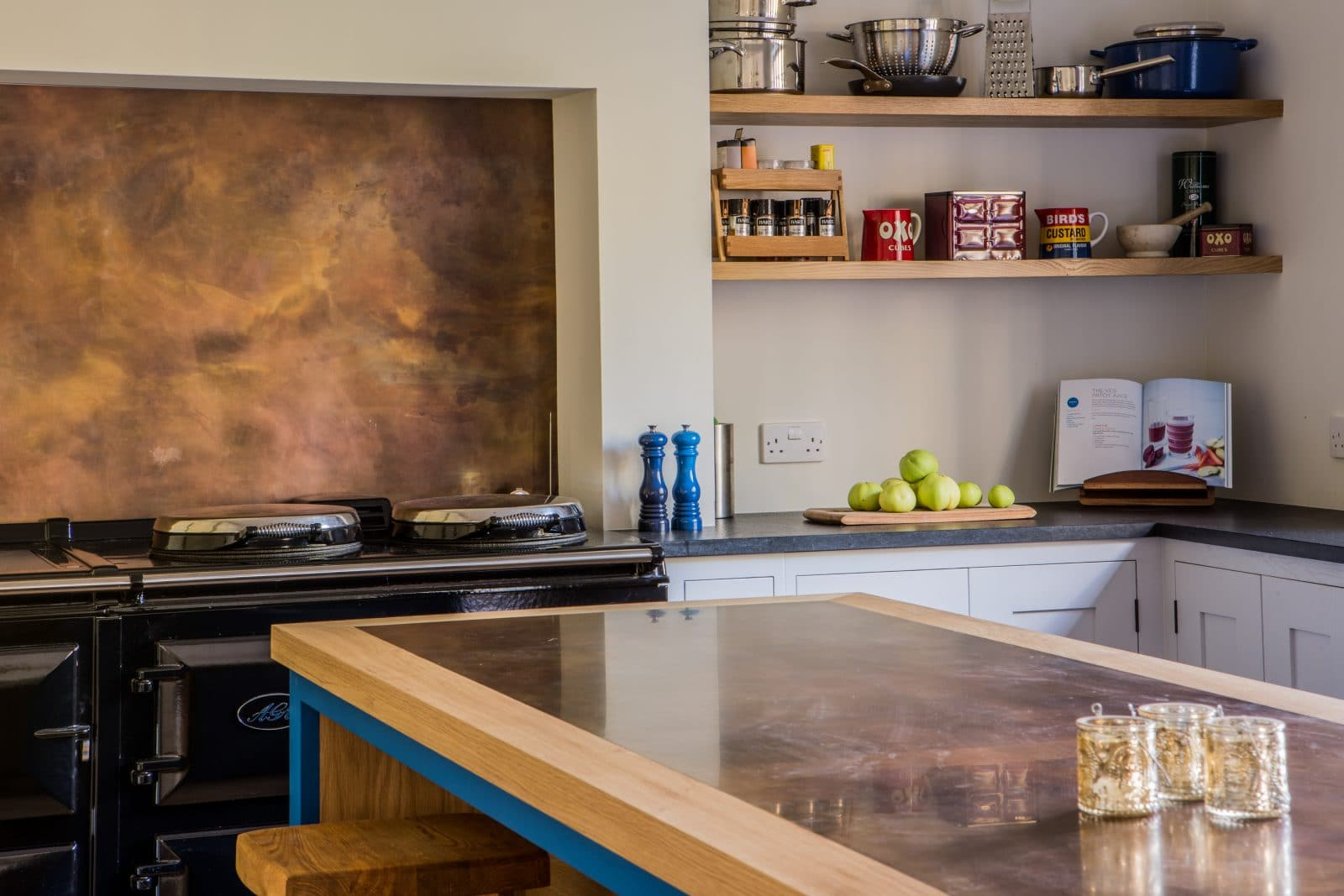Brass Amp Copper Worktops Pros Amp Cons Sustainable Kitchens