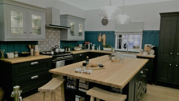Laura Ashley kitchen is Good Homes roomset