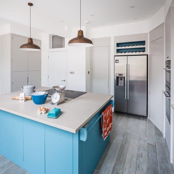 Contemporary Kitchen, Walk-In Larder