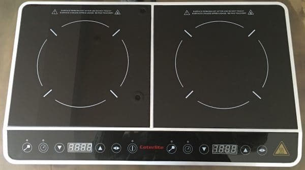 Choose between an induction on ceramic hob to sit on top of the oven