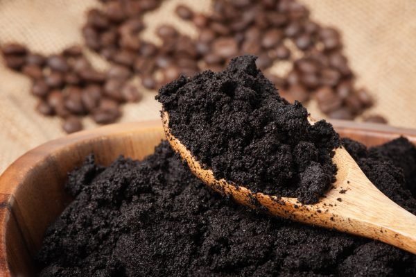 Used coffee grounds used as biomass energy source