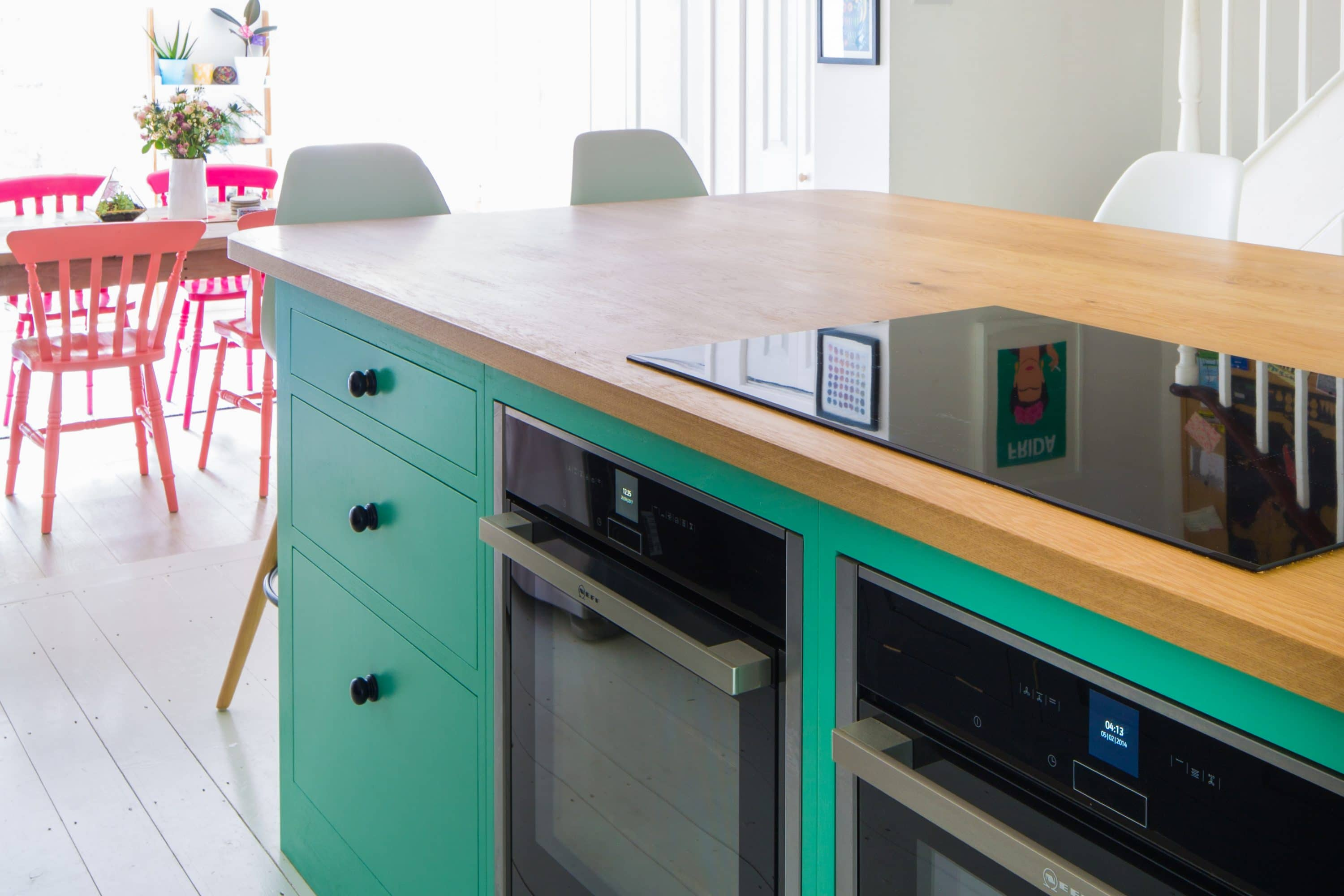 Watts Kennedy - The Colourful Fun Shaker Kitchen - Sustainable Kitchens