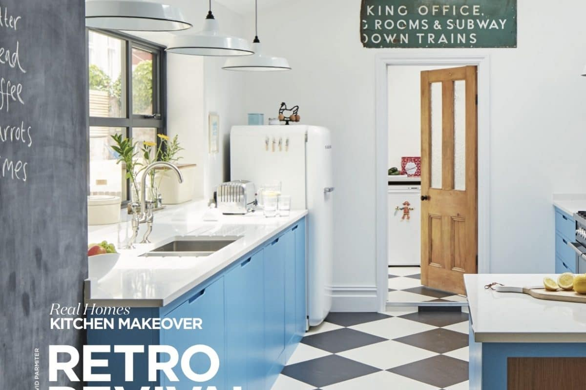 Real Homes October 2017 Retro Revival Sustainable Kitchens