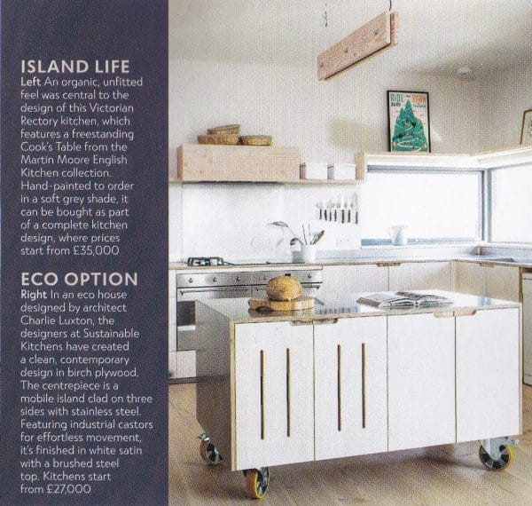 Sustainable Kitchens - Press Page - Sustainable Kitchens