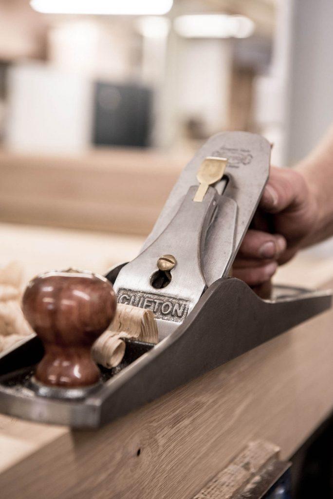 Ben Barrett's Clifton Planer - Workshop Detail Shot