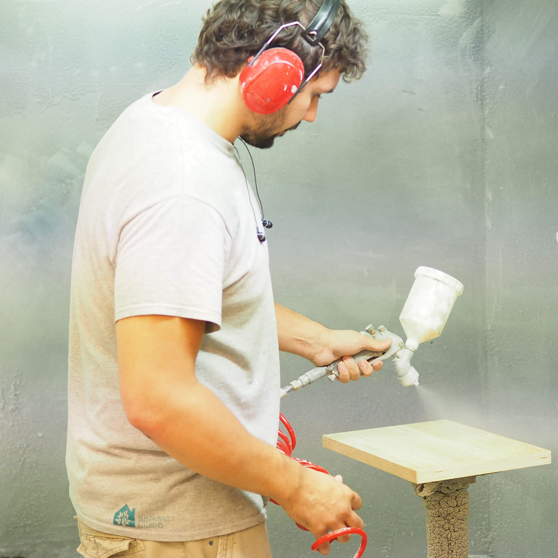Connor Andrews in the spraybooth july 2018 cropped