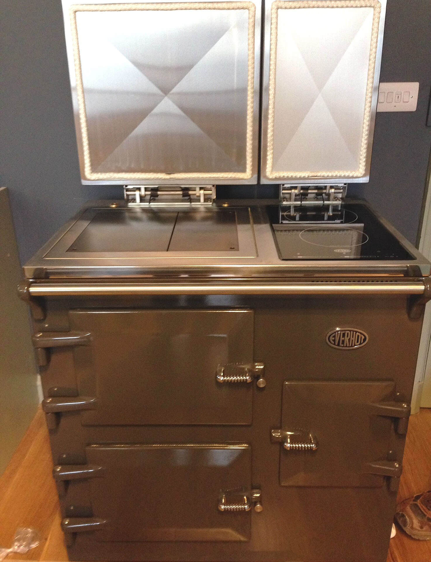 EVERHOT ELECTRIC RANGE COOKER