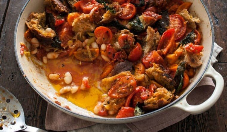 #MEATFREEMONDAY – TOMATO AND COCONUT CASSOULET