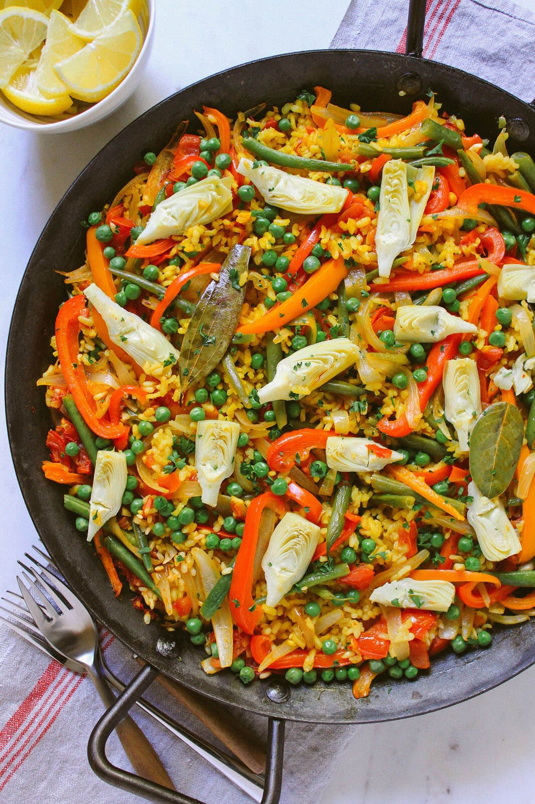 Meat free Monday - vegetable paella