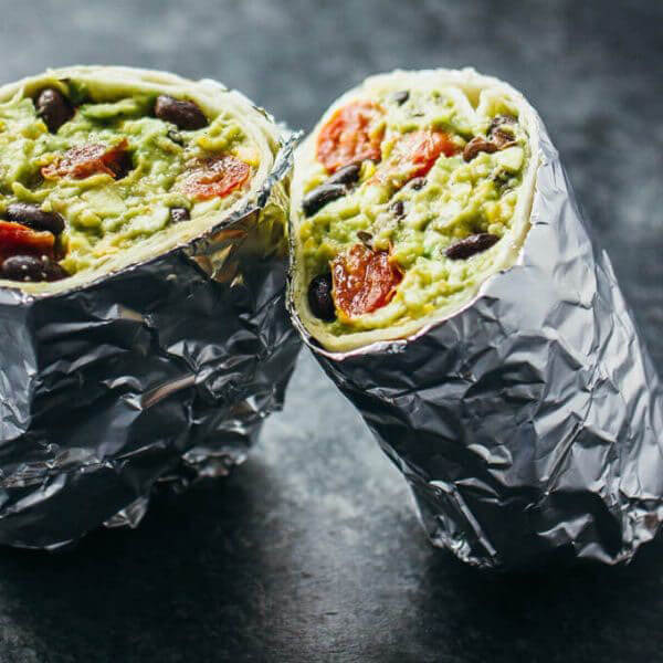 #MeatfreeMonday- Guacamole Burrito
