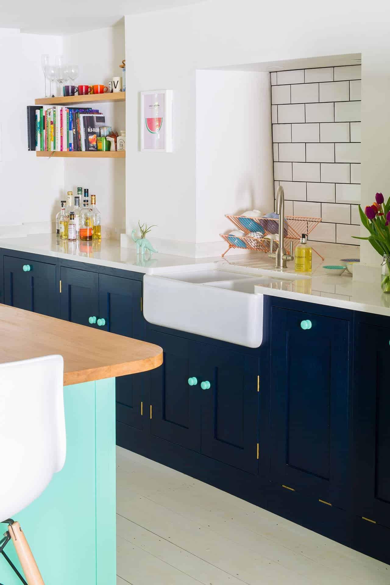 Ceramic Kitchen Sink Double Drainer