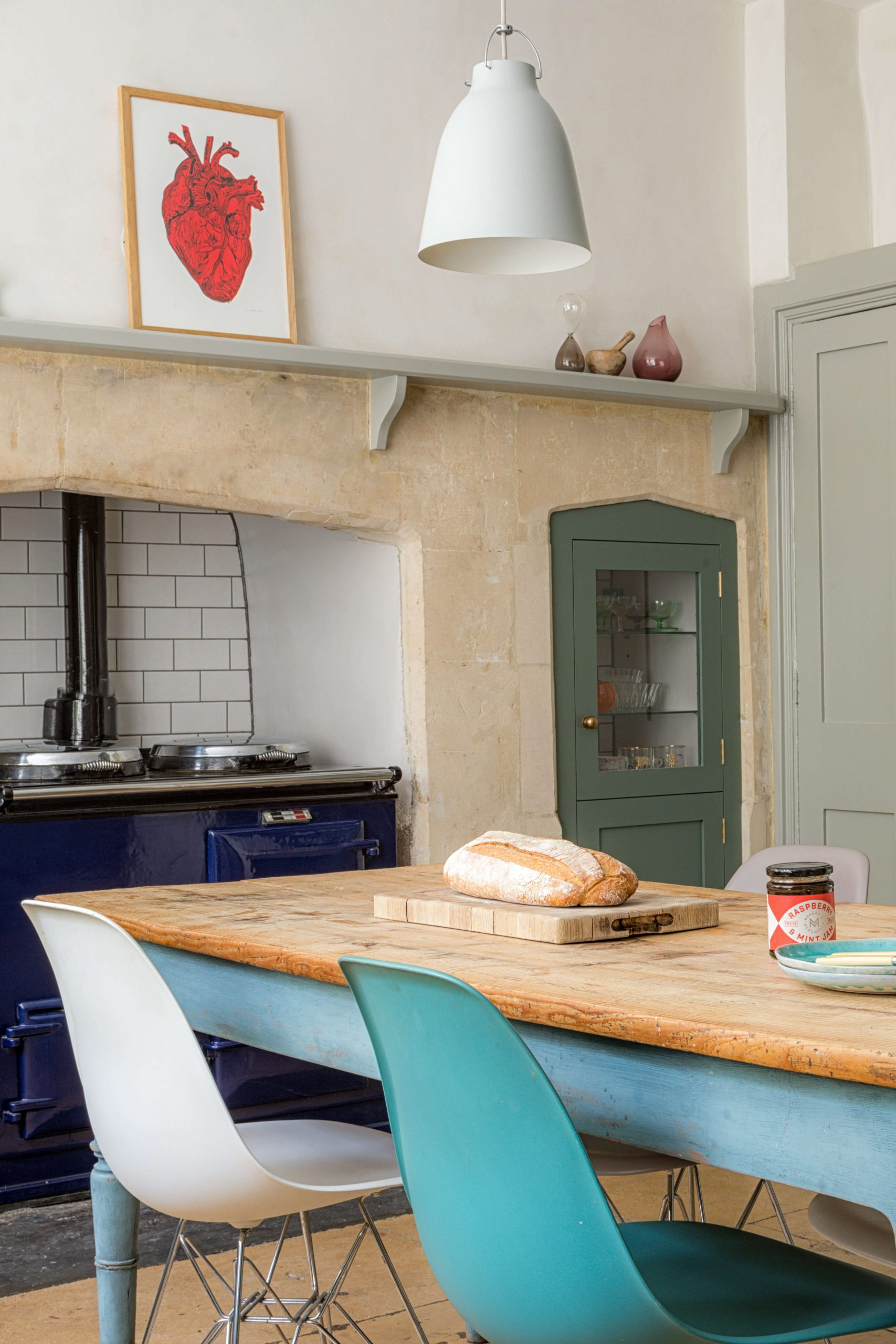 Green Shaker Kitchen - Bath - Sustainable Kitchens handmade solid wood kitchens