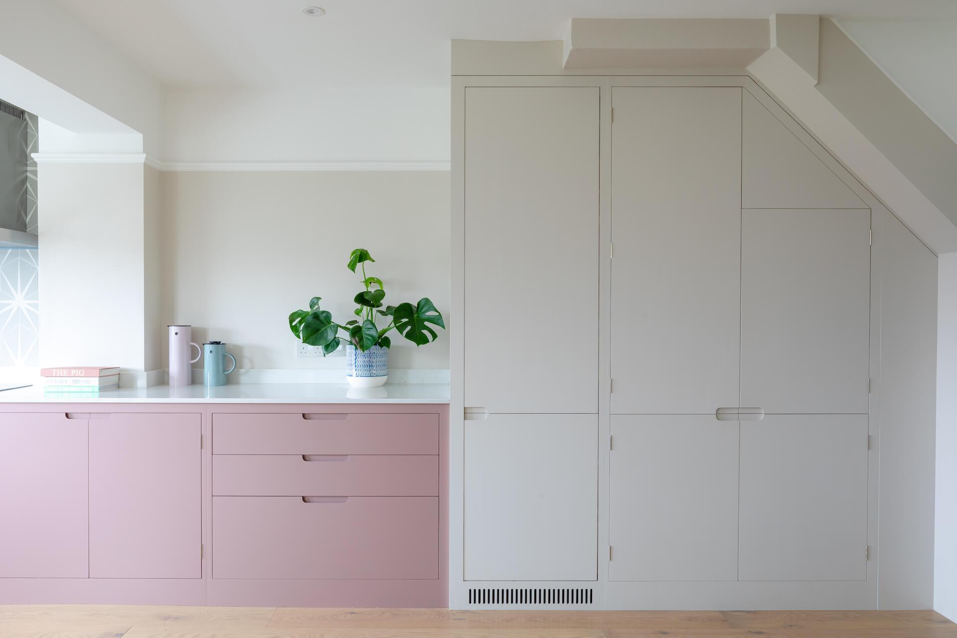 The Pink Kitchen - Sustainable Kitchens - Contemporary bespoke kitchens Bristol