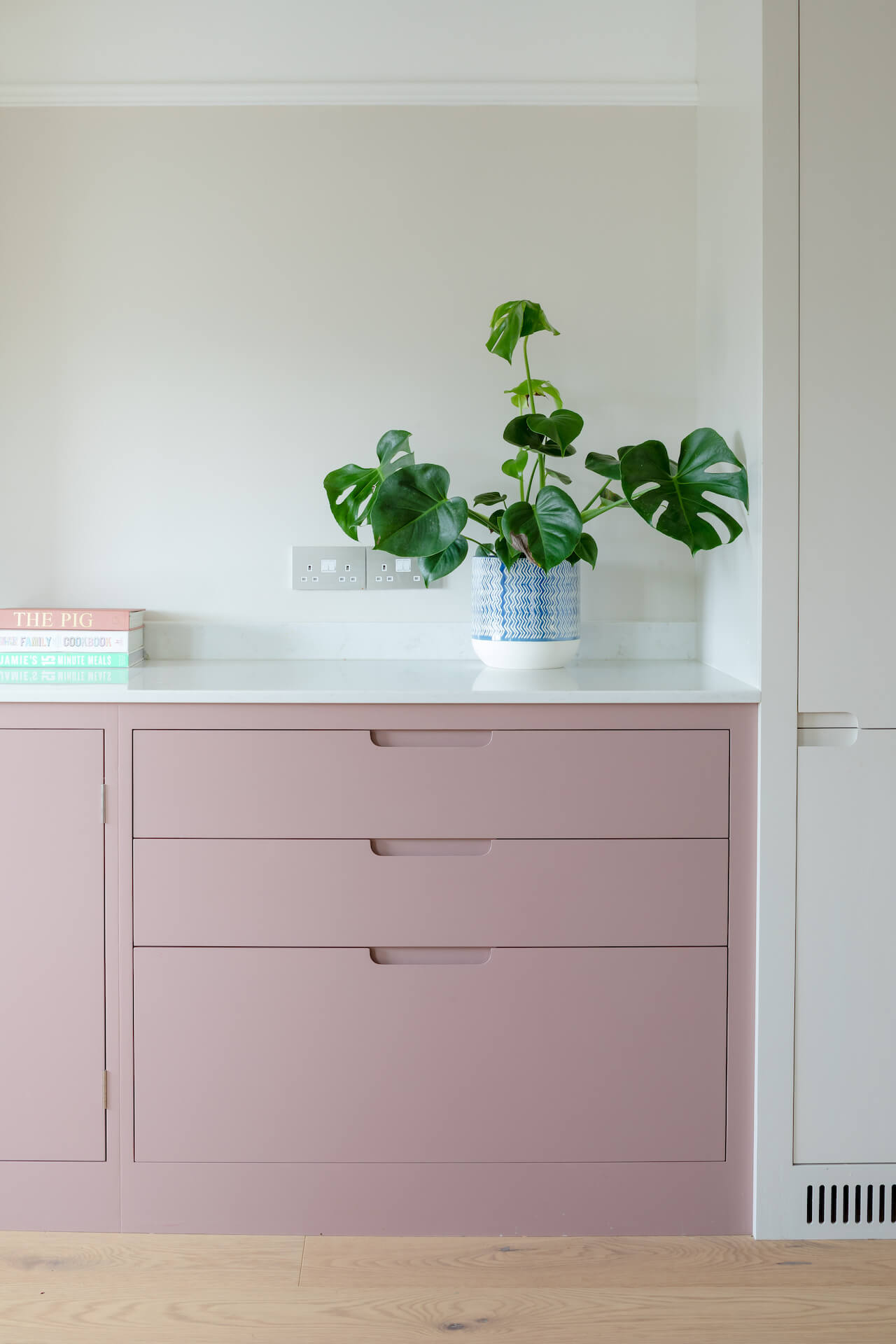 The Pink Kitchen - Sustainable Kitchens - Sulking Room Pink