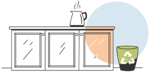 Sustainable Kitchens - Generate minimum waste