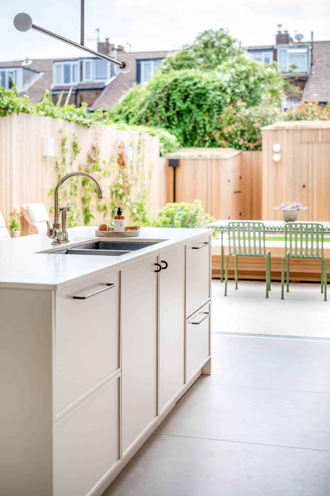 The Nune Kitchen - Kitchen overlooking garden